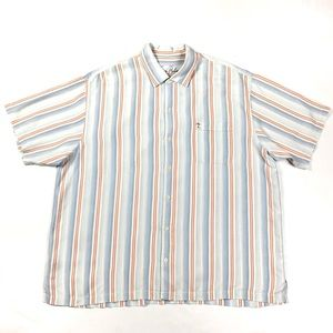 Tommy Bahama Tencel Striped Button Front Shirt